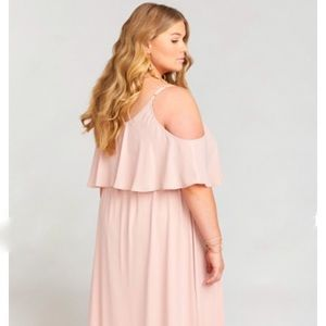 Show Me Your MuMu Dresses - SHOW ME YOUR MUMU CAITLIN RUFFLE MAXI DRESS